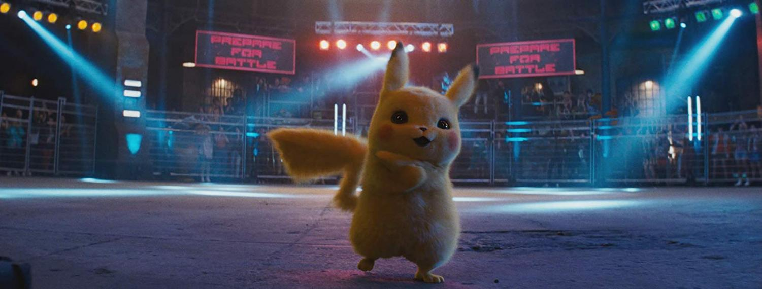 Ryan Reynolds is the voice of Detective Pikachu in